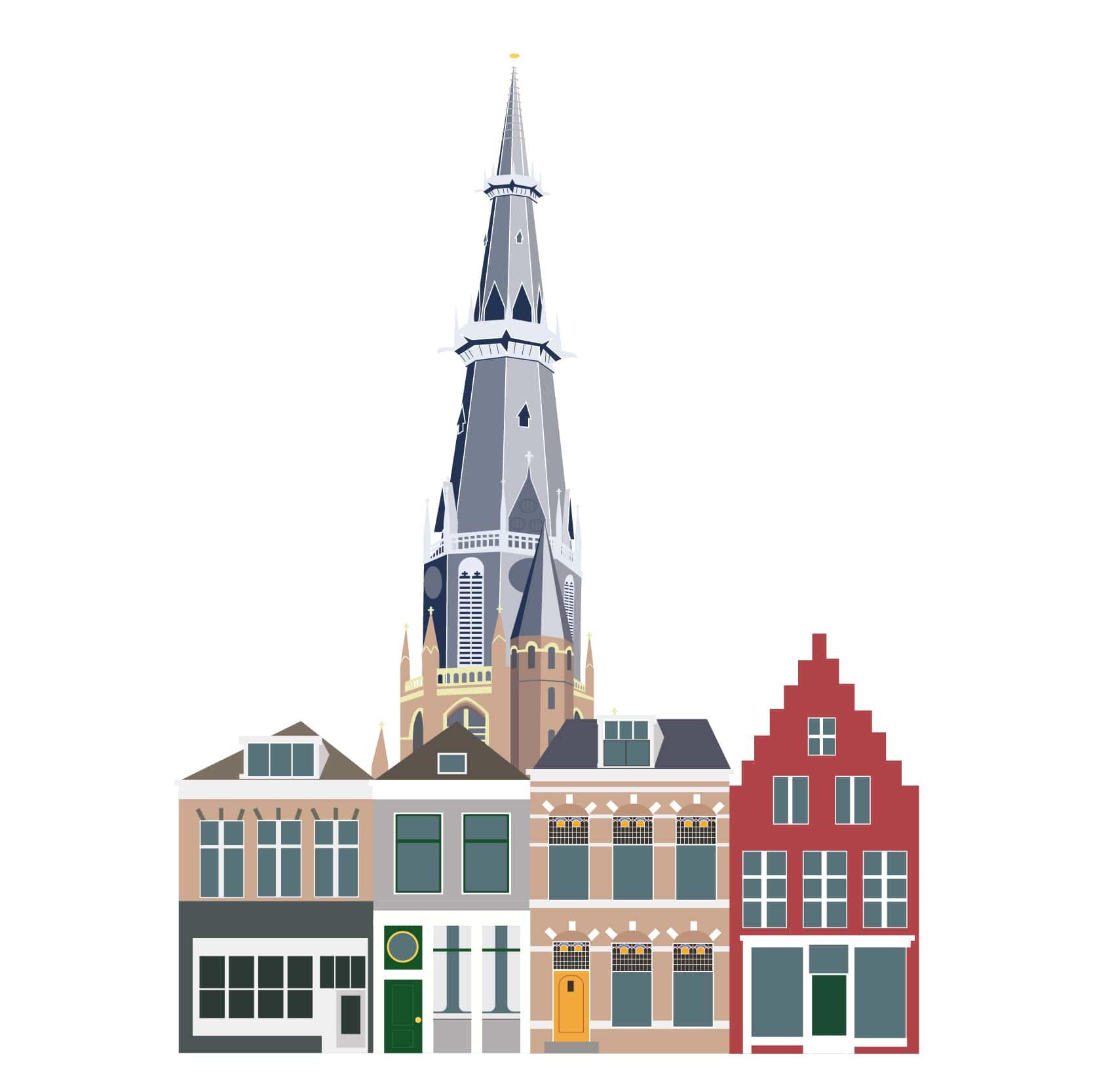 Bonifatius Leeuwarden illustratie
