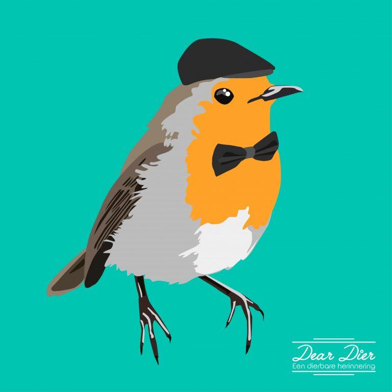Illustratie vogel