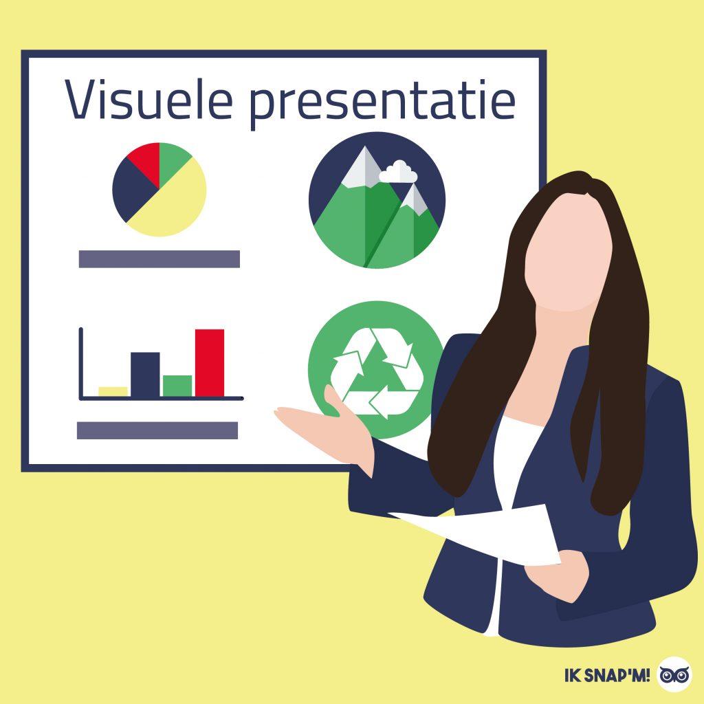 Visuele presentatie informatie