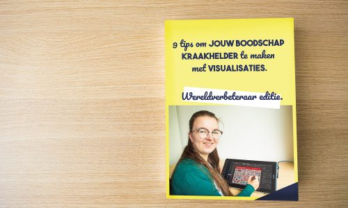 Ebook boodschap helder maken met visualisaties